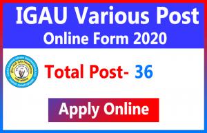 IGAU Various Post Online