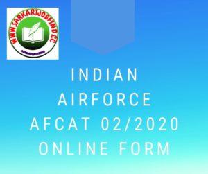 Indian Airforce AFCAT
