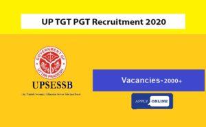 UP TGT PGT Syllabus 2020