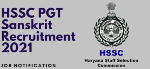HSSC PGT