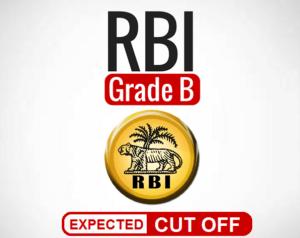 RBI Grade B Cut Off